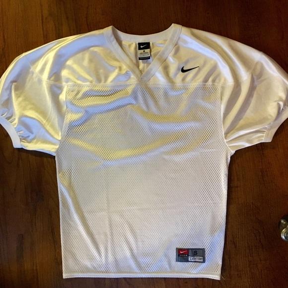 the latest c725b 98f62 Nike White Mesh Football Practice Jersey